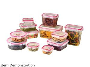 Cookpro 620 Storage Containers 24pc Set Lock And Seal Lids