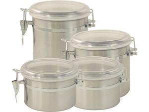 Cookpro 694 4-Piece Stainless Steel Canister Set