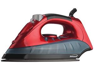 Brentwood  MPI61  Non-Stick Steam/Dry, Spray Iron in Red  Red