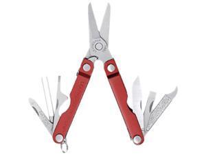 Leatherman 64330103K Micra Series Keychain Multi-Tool (Red)