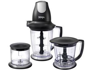 Ninja QB1004.30 Master Prep Professional Blender, Chopper, Ice Crusher and Food Processor: More Power & 2 Times Faster