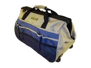 "Olympia Tools 90-326 20"" Rolling, Wide Mouth Tool Bag"