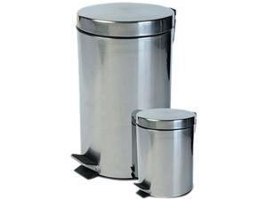 Ragalta RTB-022 2PC kitchen stainless steel trash can