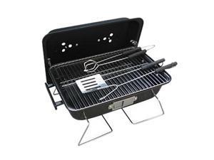"Ragalta 16"" x 11"" Portable Charcoal BBQ Grill RBQ-004 Black"