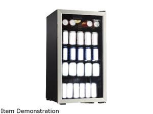 Danby DBC120BLS 3.3 cu. ft. (120 can) Beverage Centre Black with Stainless Steel