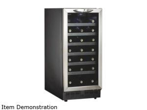 Danby DWC1534BLS 34 bottle (3.3 cu. ft.) Wine Cellar Black with Stainless Steel