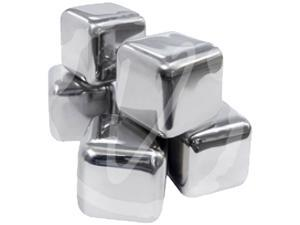 Epicureanist EPSIMPLEICE01 Stainless Ice Cubes Stainless Steel