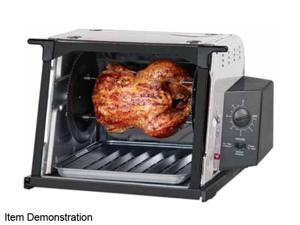Ronco Stainless Steel Showtime Compact Rotisserie and Barbeque Oven ST3001SSGEN