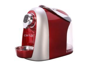 Coffee Bean & Tea Leaf Kaldi S04 Red Metallic Red Single Serve Coffee Maker