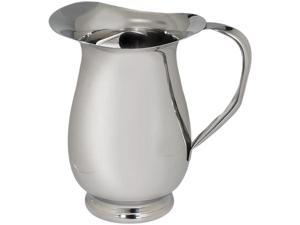 Amco 8762 Polished Stainless Steel 64-Ounce Water Pitcher