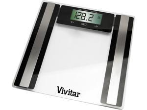 Vivitar PS-V427-C Health and Fitness Digital Scale Clear