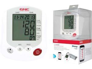 GNC GB-8565 Bluetooth Blood Pressure Monitor White