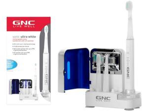 GNC GO-9501 Sonic Toothbrush with Ultra Violet Sanitizer White