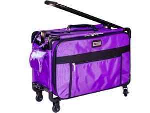 Tutto 4220PMA-M Machine Case On Wheels Small 17in Purple