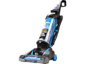 Eureka AirSpeed EXACT Reach AS3008A Upright Vacuum, Bagless, Allergy Filter, Blue/Black