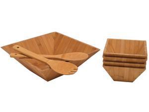 Lipper 8206/7 7pc Bamboo Salad Set