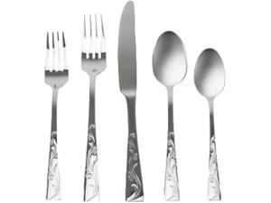 Anchor Hocking 97721 Alyssia 20-Piece Flatware Set