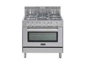 "Verona 36"" Single Oven Gas Range VEFSGG365SS"