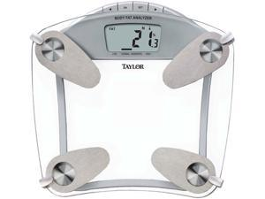 TAYLOR 55994192 Glass Body Fat Scale