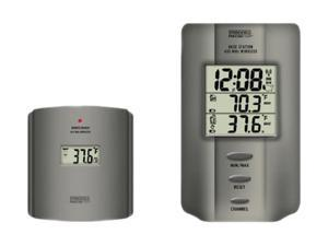 Springfield Precision 91049-1 Wireless Multi-zone Digital Thermometer With Radio Controlled Clock
