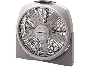 "LASKO 3542 20"" Cyclone Fan with Remote Control Gray"
