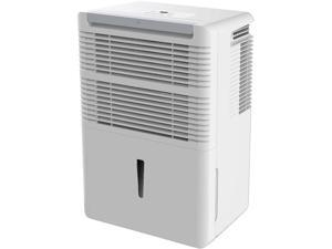 Keystone KSTAD70B Energy Star 70-Pint Dehumidifier, White