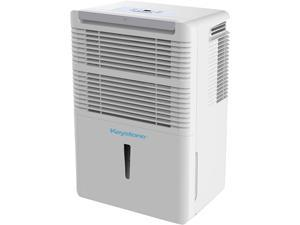 Keystone KSTAD706PB 70 Pt. Dehumidifier with Built-In Pump White