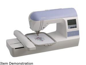 brother PE770 Embroidery With USB Memory Stick Compatibility