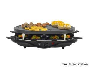 West Bend 6130 Black Raclette The Party Grill