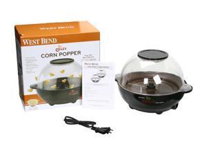 West Bend 82306 Black Stir Crazy Corn Popper