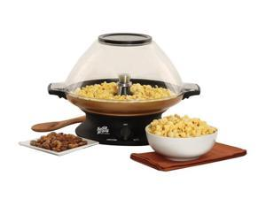 West Bend 82386 Black Kettle Krazy Popcorn Popper
