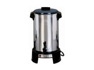 West Bend 43536 Black/Steel 36 Cup Commercial Urn
