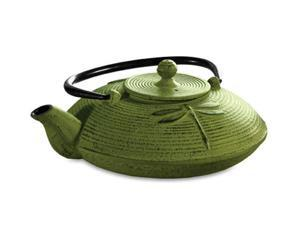 Primula PCI-5228 Green Mist Cast Iron Teapot 28 oz.