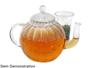 Primula PTA-2940 MOS Clear Glass Teapot Sophe 40oz