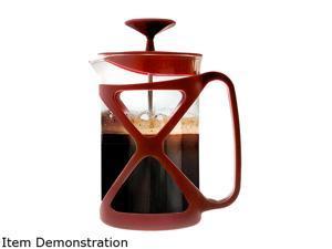 Primula PCRE-2306 DST Red Tempo 6 Cup Coffee Press - Red