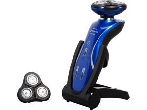 Philips Norelco Shaver 6100 Series 6000 wet & dry electric shaver 1150X/40 DualPrecision heads GyroFlex 2D contouring system 40 min shaving, 1 hour charge