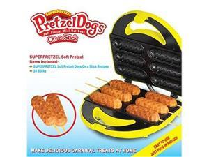 Smart Planet SPM-3 Yellow Super Pretzel Pretzel Dog Maker