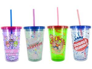 Smart Planet EC-10LICOCI2 Licensed Frap Cups 4 Pack (Blow Pop / Dubble Bubble / Cry Baby / Smarties)