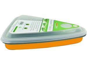Smart Planet EC-34SPIZO Collapsible Pizza Box - Orange, 44oz, 2 Slice