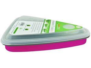 Smart Planet EC-34SPIZP Collapsible Pizza Box - Pink, 44oz, 2 Slice