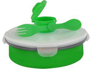 Smart Planet EC34DSBG 65oz Collapsible Deluxe Salad Bowl