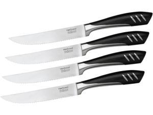 Top Chef 80-TC10 5 inch Stainless Steel Steak Knife Set - 4 Pieces