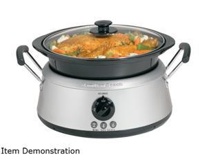 Hamilton Beach 33135 Stainless Steel 2, 4 or 6 quart 3-in-One Slow Cooker