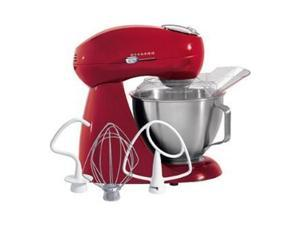 Hamilton Beach 63232H Eclectrics Carmine All-Metal Stand Mixer Red