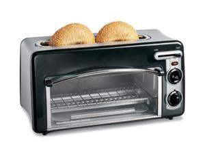Hamilton Beach 22708H Black Toastation Toaster & Oven