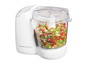 Hamilton Beach 72600 White FreshChop Food Chopper 2 Speeds