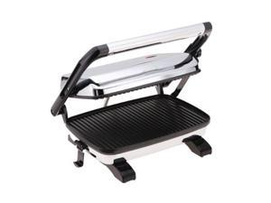 Hamilton Beach 25450 Silver Panini Press Gourmet Sandwich Maker