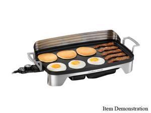 Hamilton Beach 38541 Silver Premiere Cookware Electric Griddle