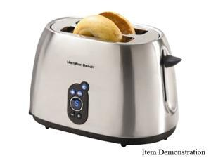 Hamilton Beach 22502 Stainless Steel Digital 2 Slice Toaster