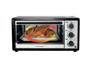 Hamilton Beach 31509 Black Convection 6 Slice/Broiler Toaster Oven